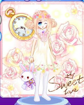 最萌最可爱的小兔子简画