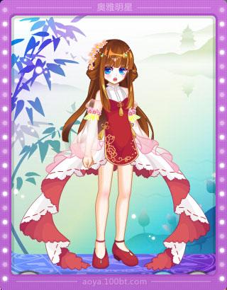 柔色调的长发搭配超级赞的竹取公主表情优雅中自带淡淡的忧郁 简单的图片