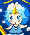 奥拉星小水蓝(颜料。)