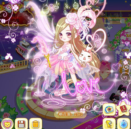 奥比岛梦幻般的女孩魔法时装秀