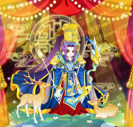 奥比岛唐高宗帝王盛世装图鉴分享