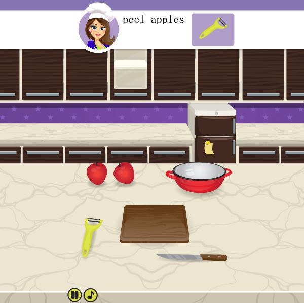 学做法式苹果派