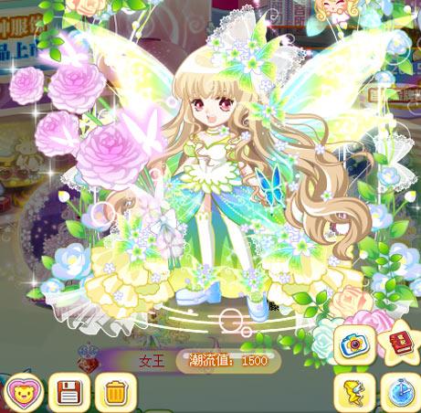 奥比岛女神魔法时装秀