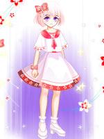 樱花少女套装