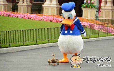 歪幺幺零嘛,这里有只鸭子成精啦~
