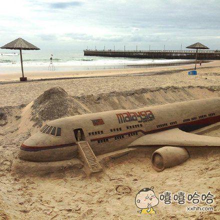 沙子玩成这样,服了