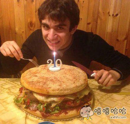 吃货的生日蛋糕~