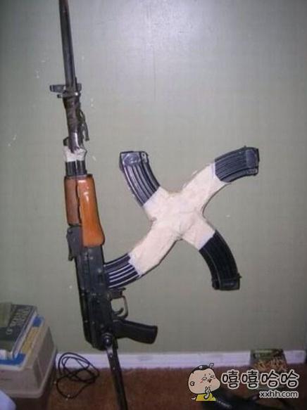 战斗民族的弹药夹都是这样的。。