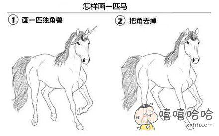 高级教程:怎样画一匹马