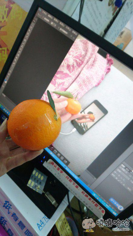 给你展示如何变很多橘子