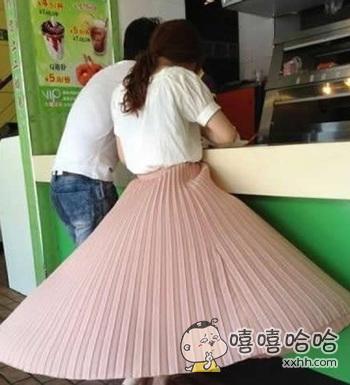 好飘逸的裙子