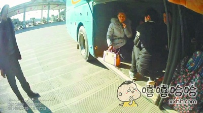 行李厢也能坐人,才明白什么叫活久见