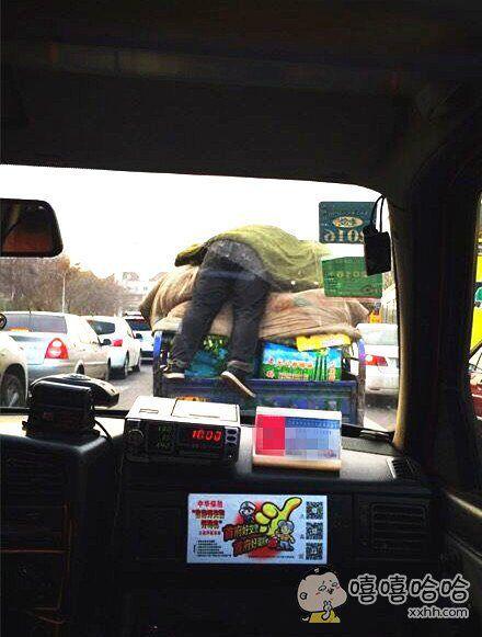 前面内辆车保温措施做得真到位