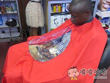 强烈建议在所有理发店推广