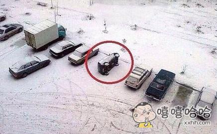 我有特殊的停车姿势~~