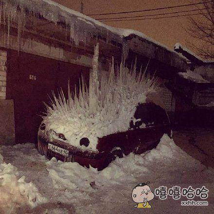 一辆很燥的车