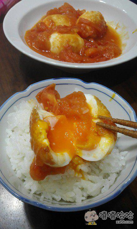 孩子早上想吃西红柿炒鸡蛋。