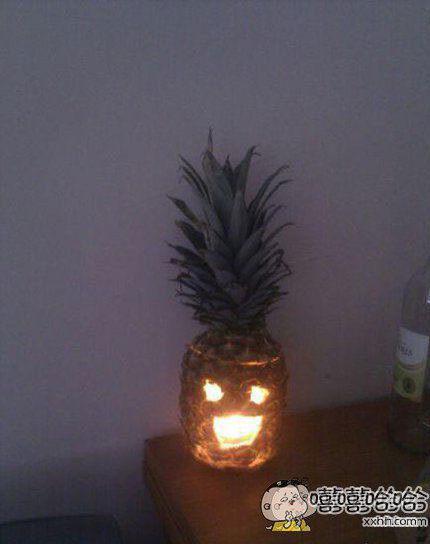 菠萝灯。。。