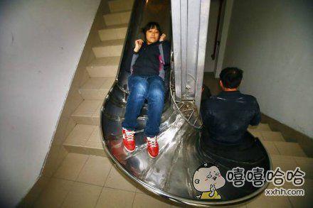 我也想要一个这样的楼梯