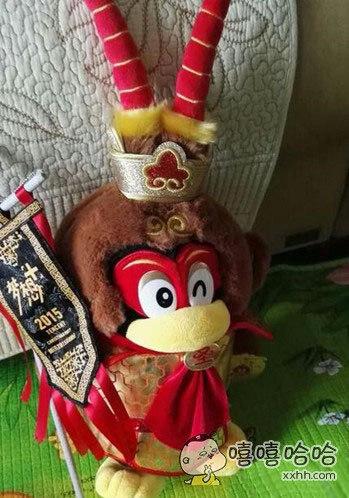 刚买的猴王,总觉得哪里怪怪的