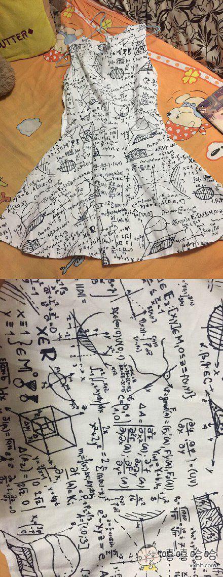 考试时候你或许需要这样一条裙子