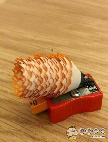 完美的铅笔屑