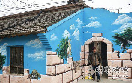 把房子画成这样很好看啊