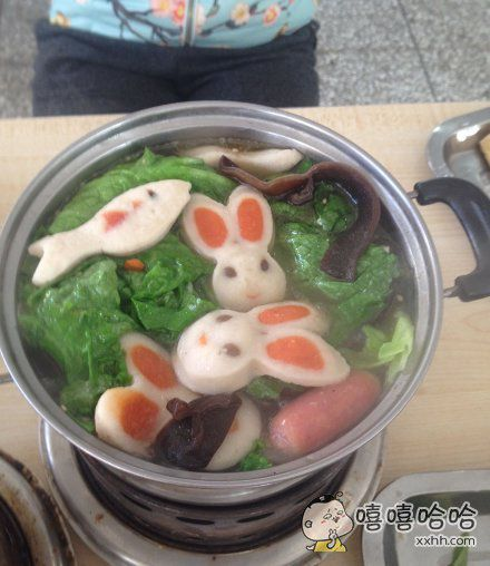 兔兔那么可爱,怎么可以吃兔兔!!!