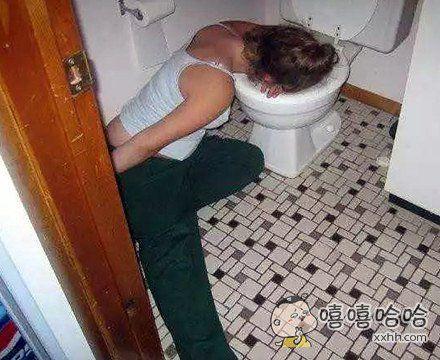 不要喝醉啊,那很可怕的