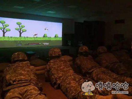 美军练习射击指定程序