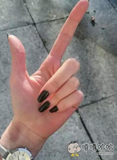 大家都说我手指长,真的长么?