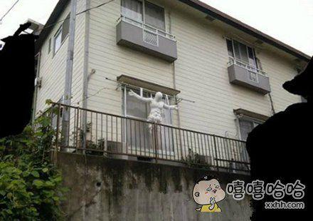 太特么吓人了,还是放到窗外吧!