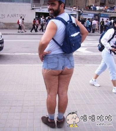 齐屁小热裤