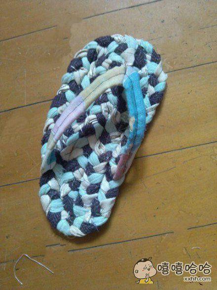 老妈做的手工拖鞋