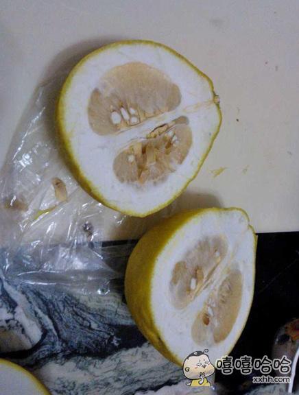 超市搞活动送的柚子,简直良心。。。
