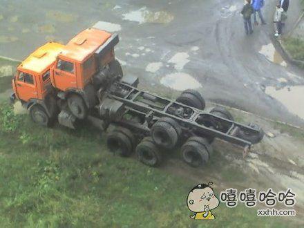卡车是如何交配的