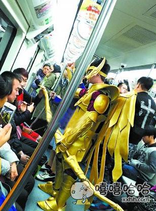 地铁里见到的。。。