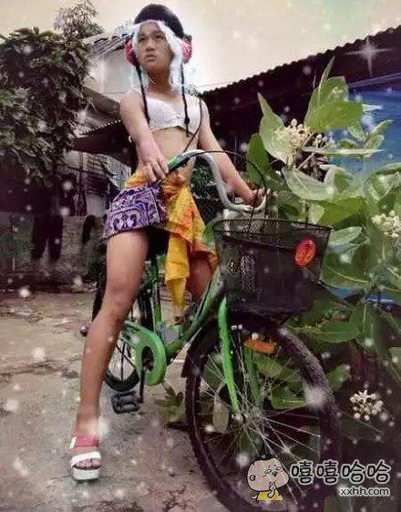 一个热爱时尚的泰国骚年,为了实现梦想,也是很拼的