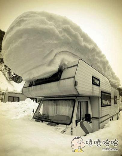 这积雪有点凶猛啊!