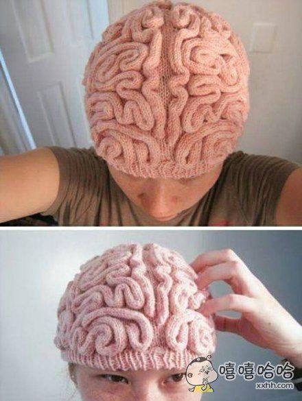 这帽子带了不知道能不能涨智商