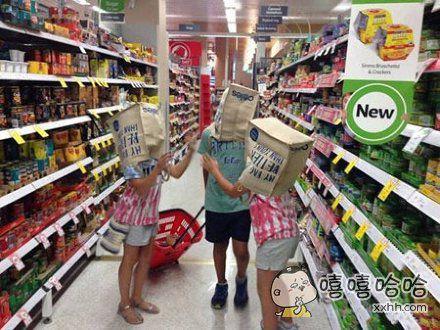 超市的天敌就是熊孩子