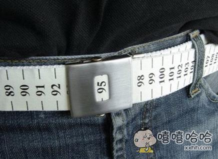 对于胖纸来说这腰带的设计简直毫无人道可言