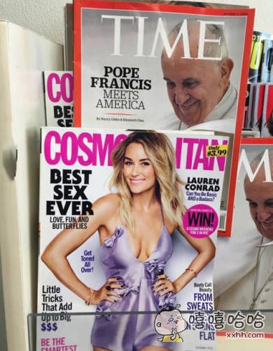 教皇你在看哪里