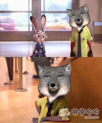 如果尼克是藏狐,画风会变得很不一样啊