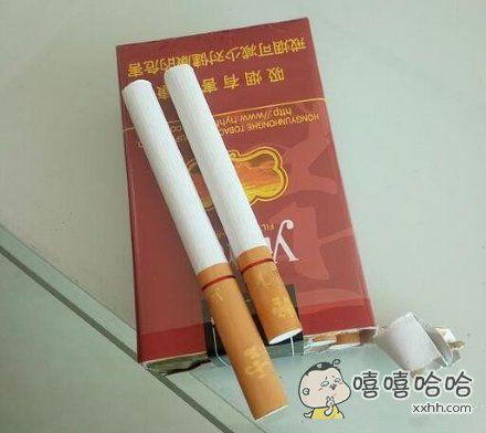 这烟是来搞笑的吗,差点没懵逼了。。。