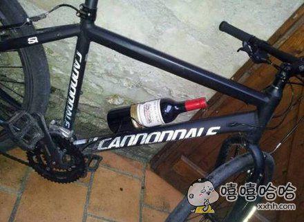 渴了就喝点,骑车更有劲