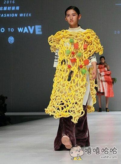 一眼就看出了设计师是个吃货