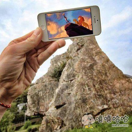 狮子王小辛巴当年征服的山头。