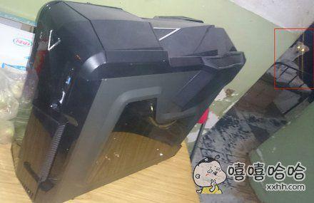 新买的电脑。。。不对,好像有杀气