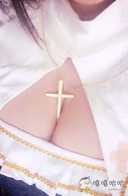 十字架的位置有点尴尬